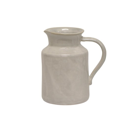 French Country Franco Rustic White Small Pitcher