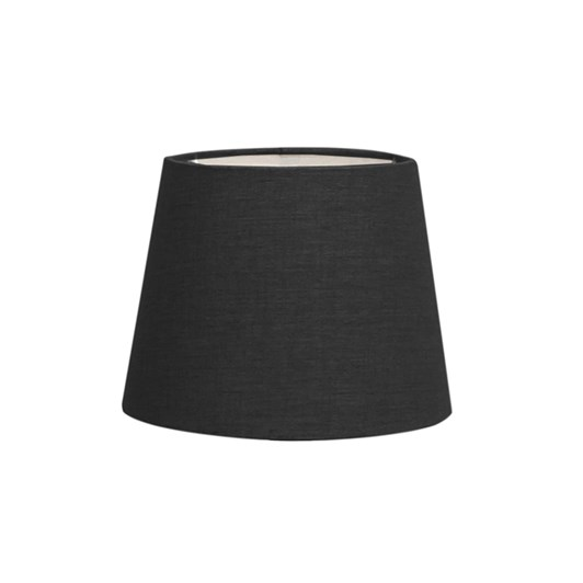 French Country Tapered Drum Small Shade Black