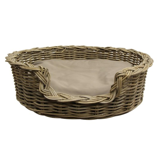 French Country Grove Large Dog Basket