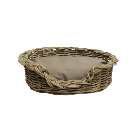 French Country Grove Small Dog Basket