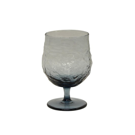 French Country Serena Blue Wine Goblet