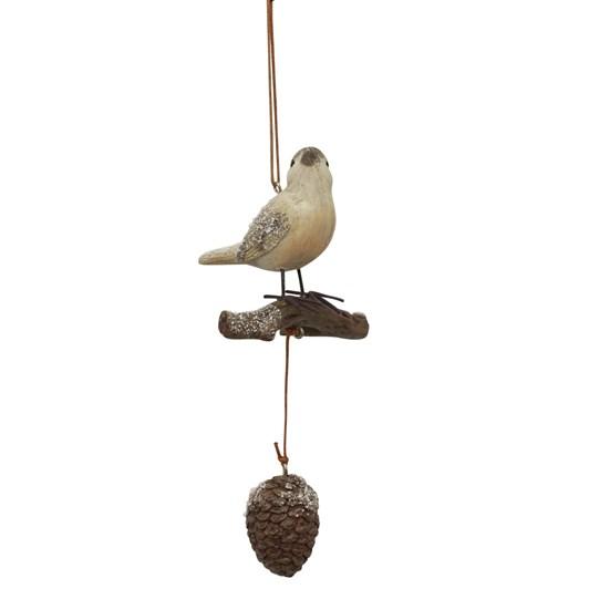 French Country Bird Singing Hanging