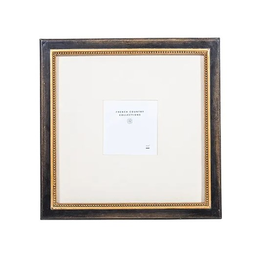 """French Country Beaded Gallery Wall Frame 4x4"""""""