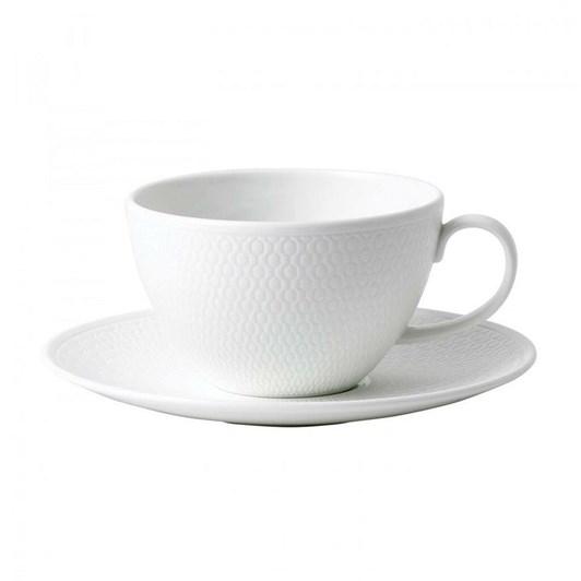 Wedgwood Bone China Dinnnerware Gio Tea Cup & Saucer 260ml