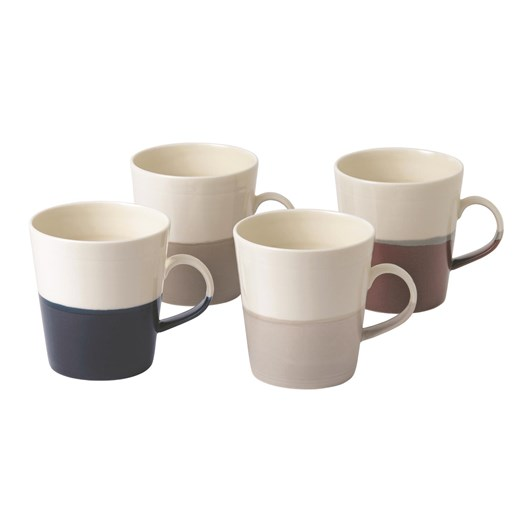Royal Doulton Coffee Studio Mixed Mugs Grande (Set of 4)