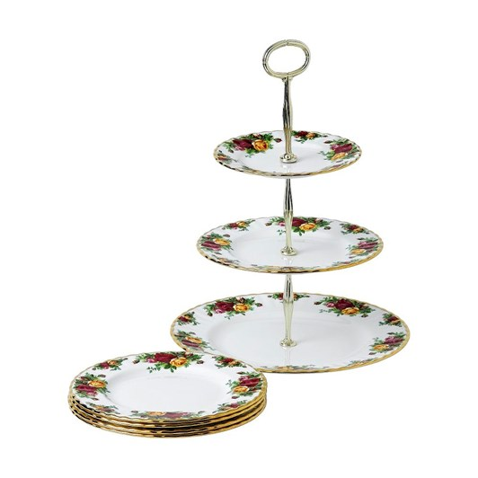 Royal Albert Old Country Roses 5 Piece Set