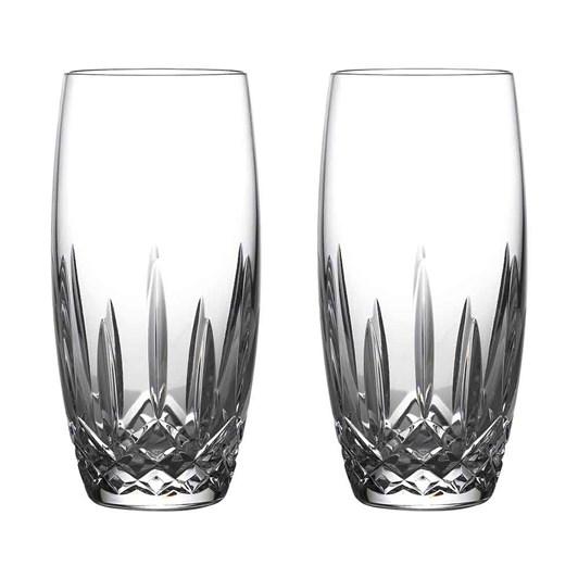 Waterford Crystal Lismore Nouveau Beer Glass Pair 650ml