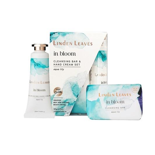 Linden Leaves In Bloom Gift Set - Aqua Lily