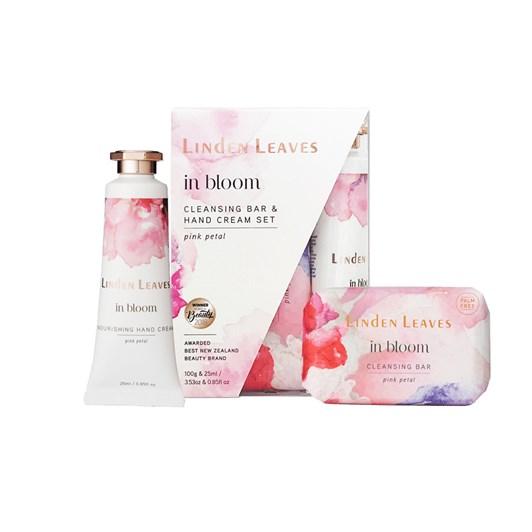 Linden Leaves Pink Petal Gift Set