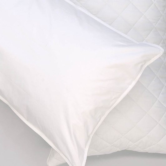 Fairydown White Natural Cotton Pillow Protector