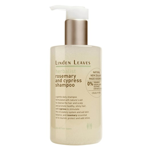 Linden Leaves Herbalist Rosemary and Cypress Shampoo 300ml