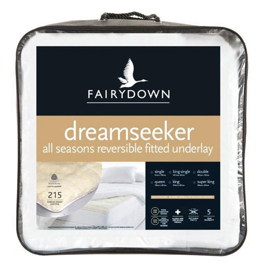 Fairydown Dreamseeker All Seasons Fitted Underlay