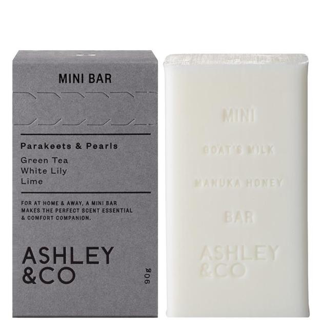 Ashley & Co Mini Bar 90g - parakeets & pearls
