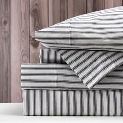 Wallace Cotton Organic Ticking Sheet Set