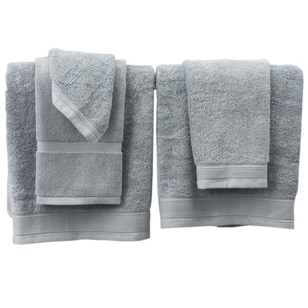 Wallace Cotton Oasis Towel Set - coastal blue