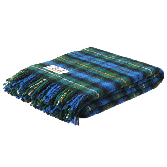 Town and Country Tartan Throw