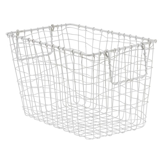 Wallace Cotton Wire Basket Large 33x23x21cm