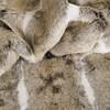 Heirloom Faux Fur Cushion 45x45cm - mountain rabbit