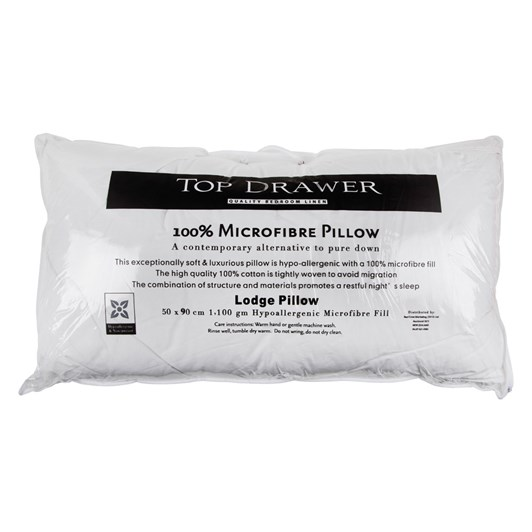Top Drawer Lodge Pillow 50x90cm