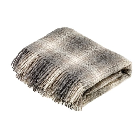 Bronte Natural Collection Pure New Wool Ombre Throw 135x195cm