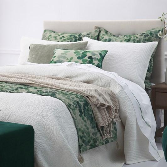 MM Linen Allegra Bedspread Ivory Set