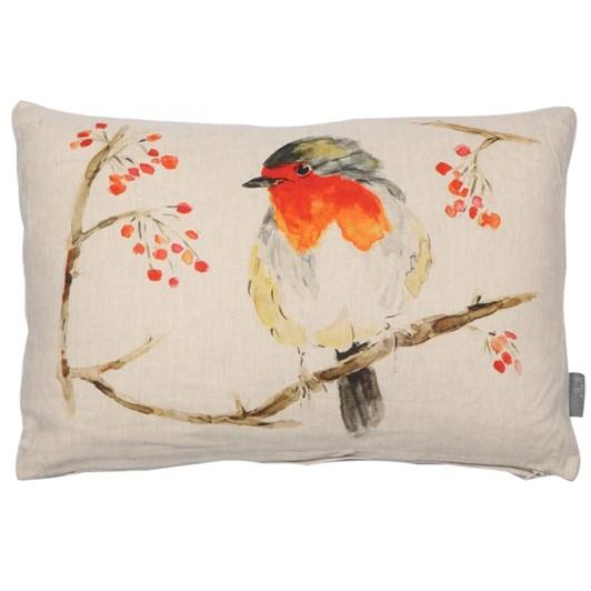 MM Linen Robin Cushion 30x50cm