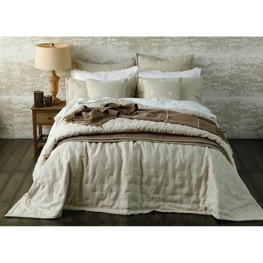MM Laundered Linen Bedspread Set