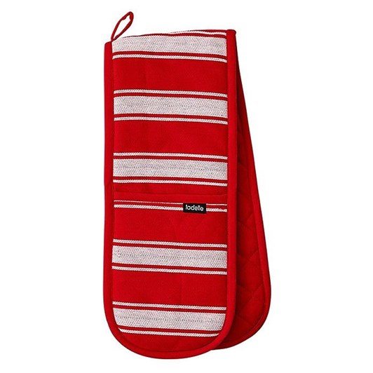 Ladelle Butcher Stripe Series II Double Oven Glove