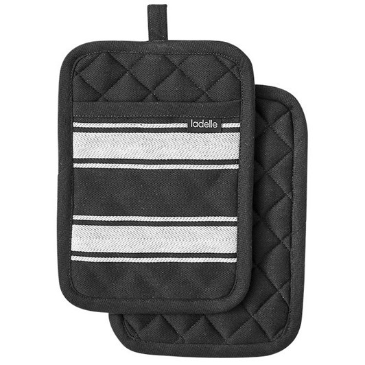 Ladelle Butcher Stripe Series II Pot Holder 2 Pack