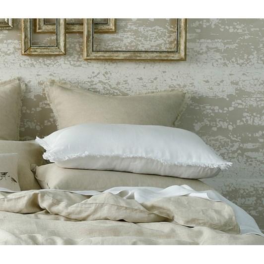 MM Laundered Linen Tassel Pillowcover Set