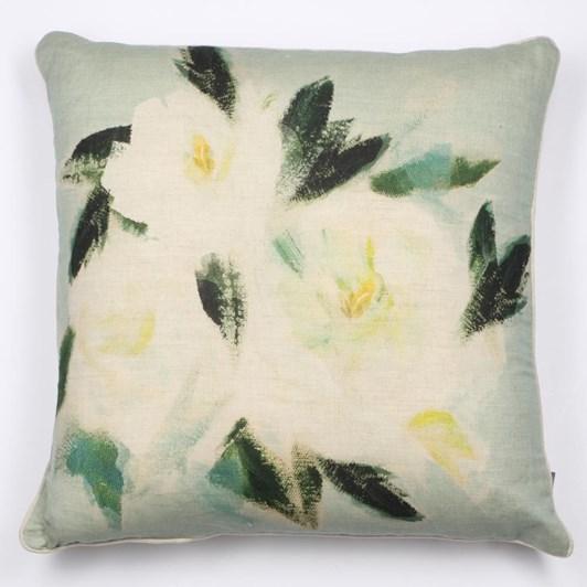 MM Linen Camellia Cushion 50x50