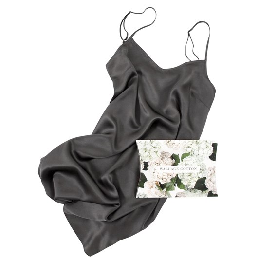 Wallace Cotton Silk Strappy Nighty