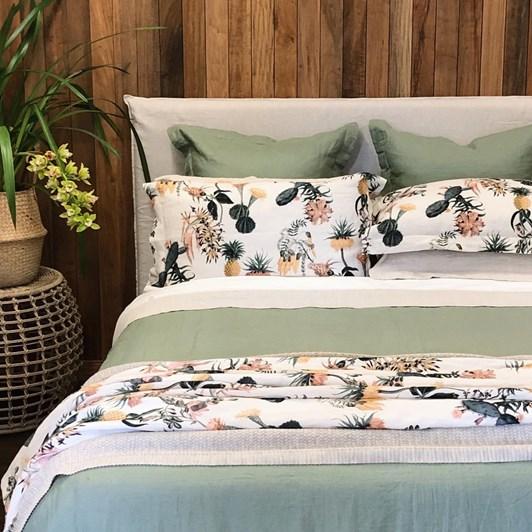 Thread Design Attenborough Linen Cushion 40x60cm