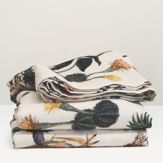 Thread Design Attenborough Linen Throw