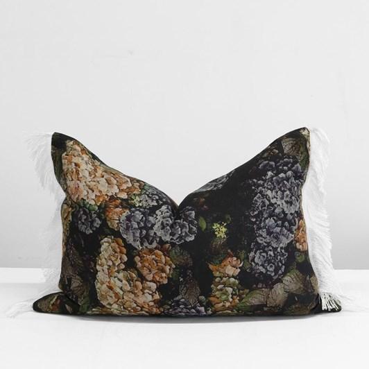 Thread Design Hydrangea Linen Tassel Cushion 40x60cm