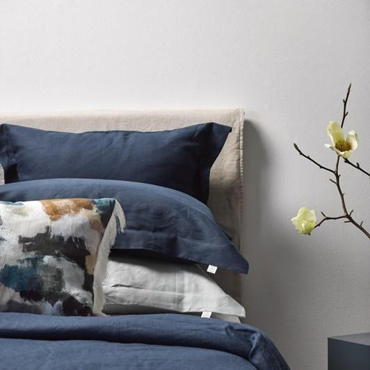 Thread Design Velvet Croc Cushion