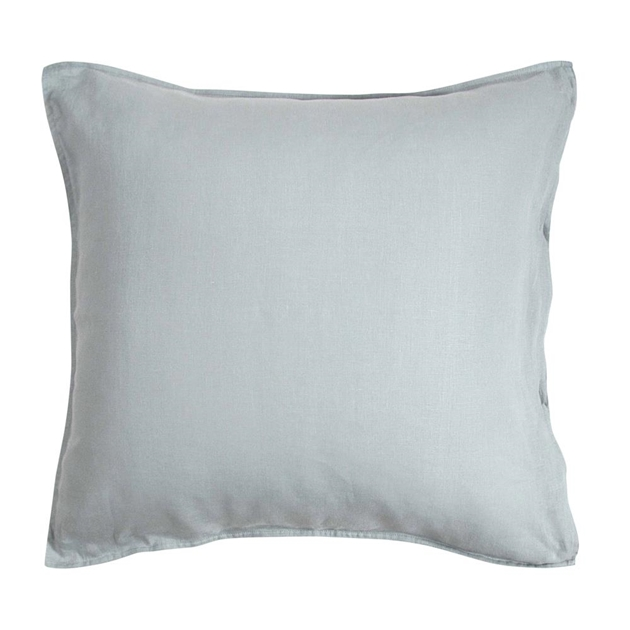 Wallace Cotton Loft European Pillowcase - dove blue