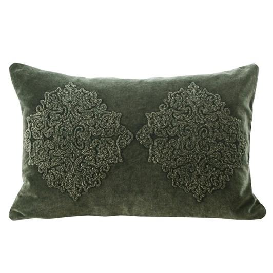 MM Linen Emblem Cushion 60x40
