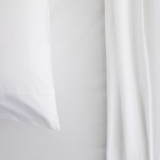 Sheridan Organic Cotton 300TC Percale Pair Pillowcases