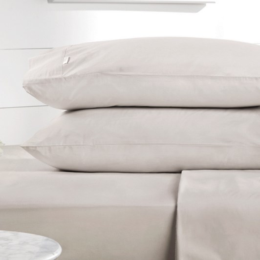 Sheridan Organic Cotton 300TC Percale Sheet Set 50cm