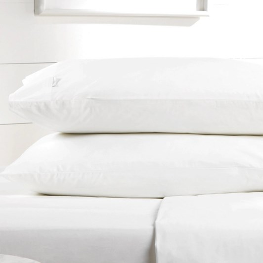 Sheridan Organic Cotton 300TC Percale Pair King Pillowcases