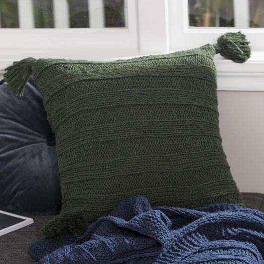 Wallace Cotton Cottage Square Cushion