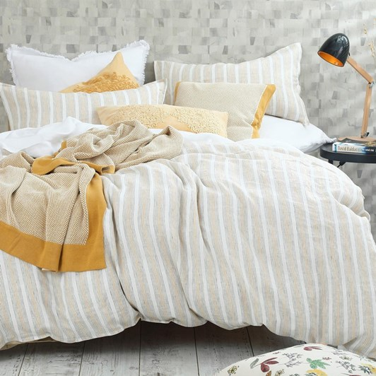MM Linen Finch Linen/Cotton Duvet Set