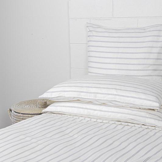 Linen Blend Stripe Sheet Set