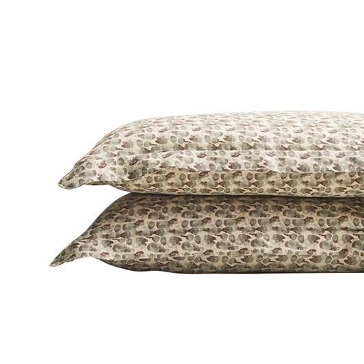 Thread Design Flutter Oxford Pillowcase Pair
