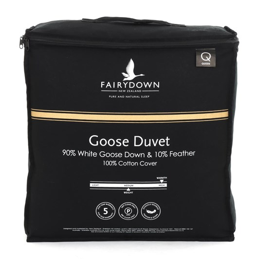 Fairydown Goose Duvet - 90% Down/10% Feather