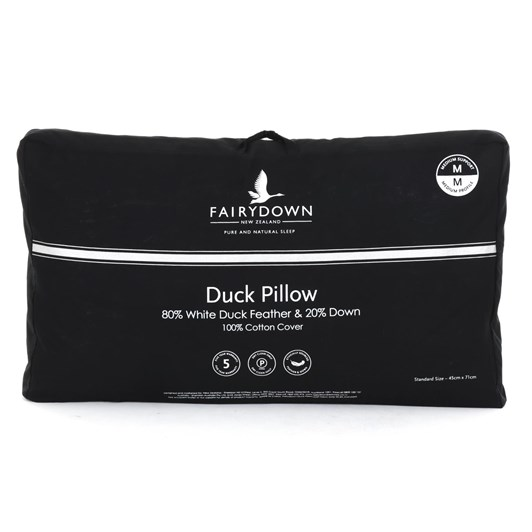 Fairydown Duck Pillow 80/20 - Medium