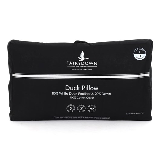 Fairydown Duck Pillow 80/20 - Firm