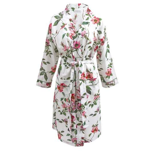 Wallace Cotton Rosie Floral Long Sleeve Robe
