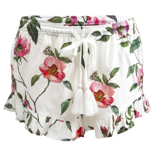 Wallace Cotton Rosie Floral Frill Hem Sleep Short